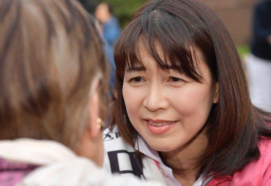 田中かすみ あなたのために、文京区のために、働かせてください!