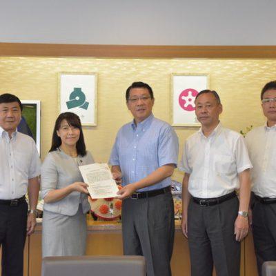 2020年度の予算要望書を文京区長に提出
